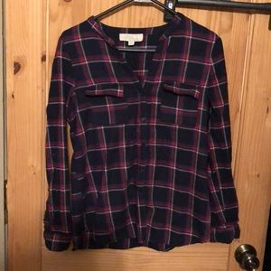 Olive & oak button up shirt